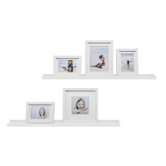 Wandboard Weiß - (80/3/9cm) - Mömax modern living