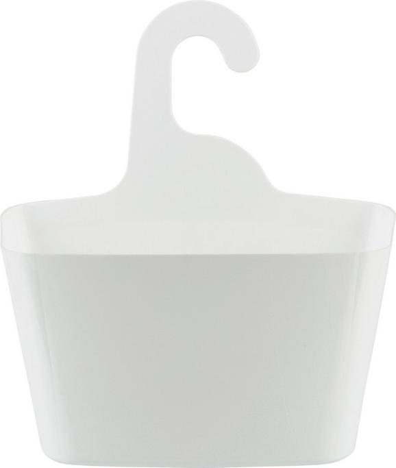 Hängeaufbewahrung Tina in Weiß - Weiß, Kunststoff (28,7/12,5/31,4cm) - Mömax modern living