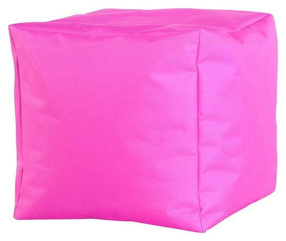 Tabure Cube Xl -sb- - roza, Moderno, tekstil (50/50/50cm) - Mömax modern living