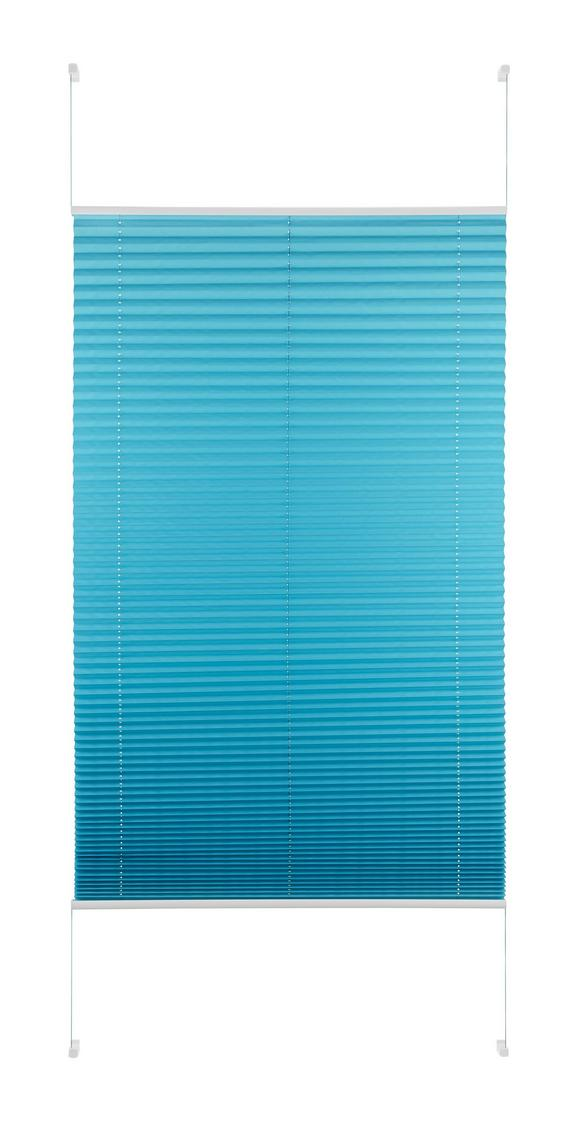 Plise Free - petrolej, tekstil (90/210cm) - Premium Living