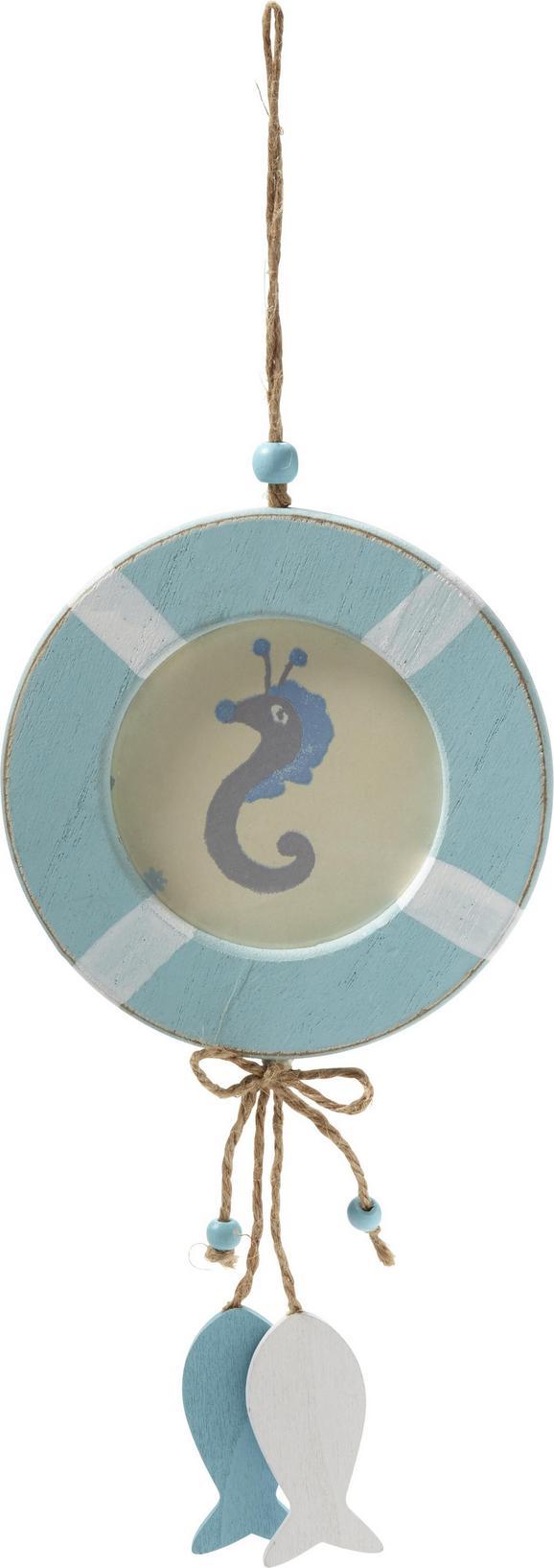 Okvir Za Slike Valentin - svetlo modra, Trendi, steklo/les (12/23/1cm)