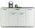 Sideboard Grau/Weiß - Weiß/Grau, MODERN, Holzwerkstoff/Kunststoff (149/86/37cm)