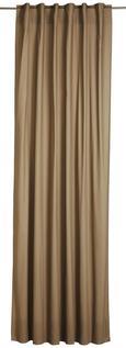 Schlaufenvorhang Outdoor Cappuccino - Cappuccino, KONVENTIONELL, Textil (140/270cm) - Mömax modern living