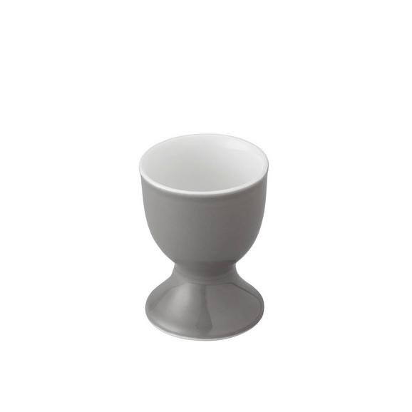 Eierbecher Sandy in Grau - Grau, KONVENTIONELL, Keramik (4,8/6,5cm) - MÖMAX modern living