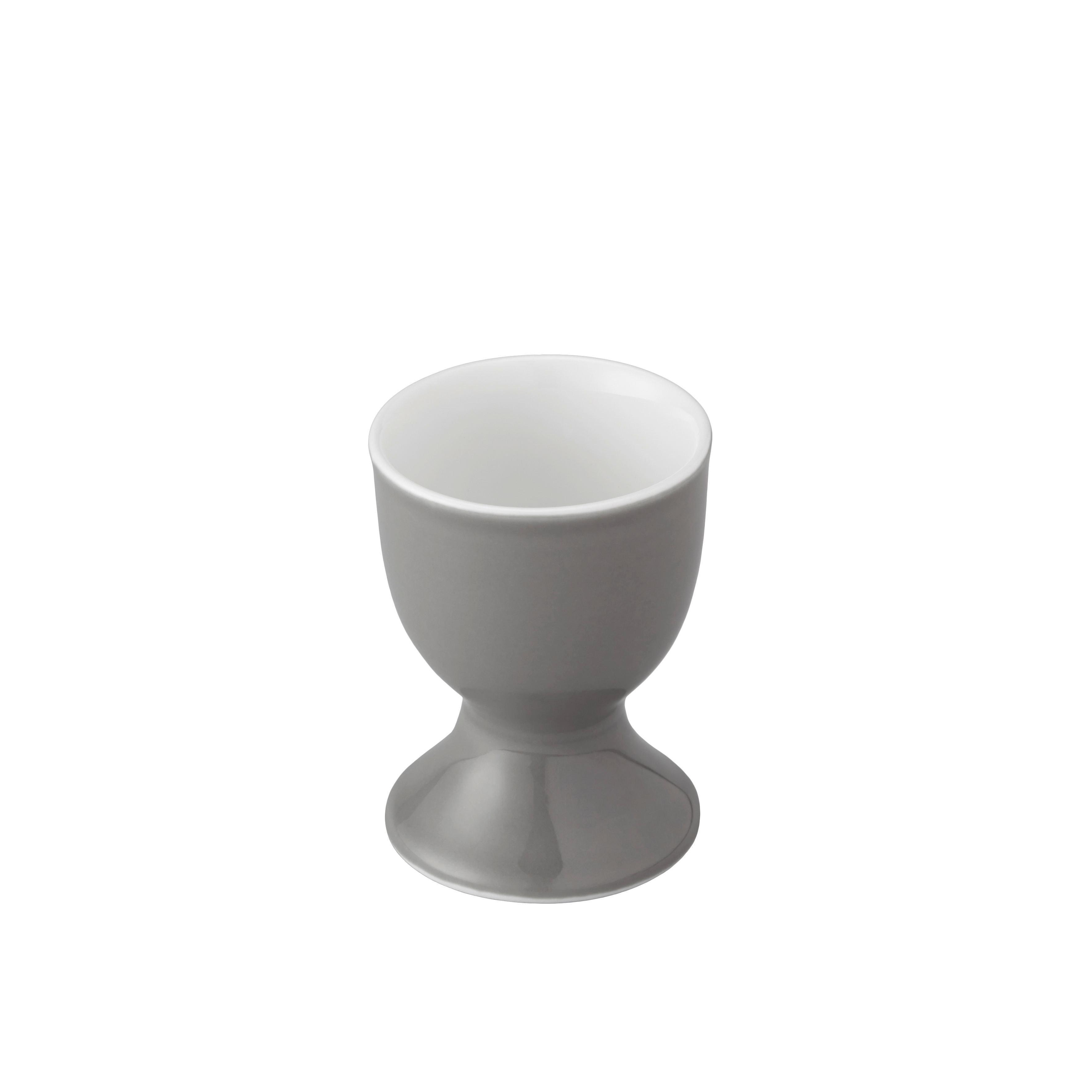 Podstavek Za Jajce Sandy - siva, Konvencionalno, keramika (4,8/6,5cm) - MÖMAX modern living