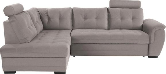 Sedežna Garnitura Falco - temno siva/siva, Moderno, kovina/umetna masa (183/251cm) - Mömax modern living