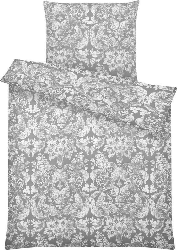 Bettwäsche Santine in Grau ca. 135x200cm - Grau, LIFESTYLE, Textil (135/200cm) - MÖMAX modern living