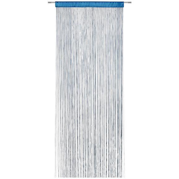 Nitasta Zavesa Victoria - petrolej, tekstil (90/245cm) - Mömax modern living
