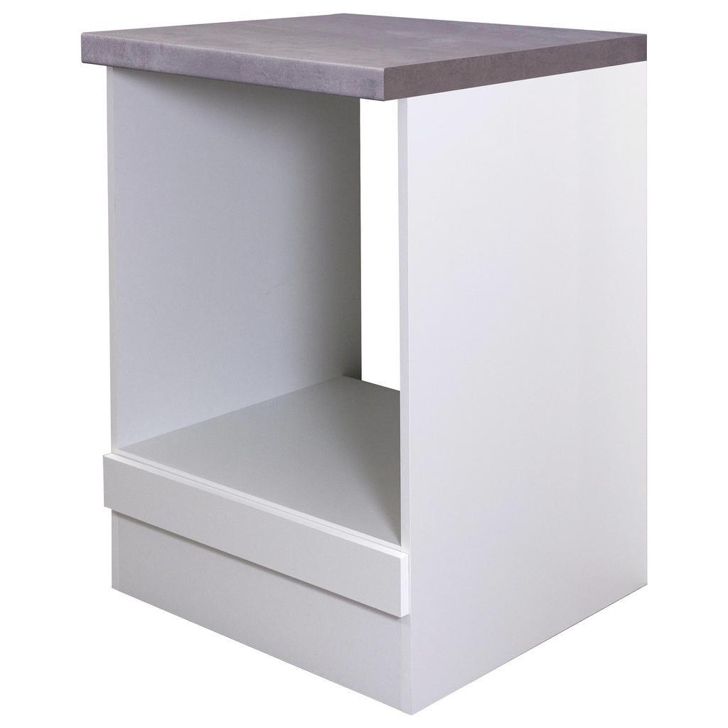 Herdumbauschrank Weiß | Küche und Esszimmer > Küchenschränke > Umbauschränke | Weiß | MÖMAX