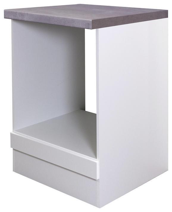 Herdumbauschrank Weiß - Weiß, MODERN, Holzwerkstoff (60/86/60cm)