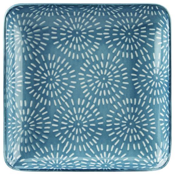 Platte Nina Blau - Blau, Keramik (12,5cm) - Mömax modern living