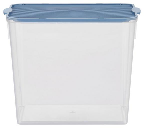 Box mit Deckel Lorry Blau - Transparent, KONVENTIONELL, Kunststoff - Plast 1