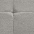 Schwingstuhl in Sandfarben 'Lucie' - Sandfarben/Chromfarben, MODERN, Holz/Textil (42,5/98/45cm) - Bessagi Home