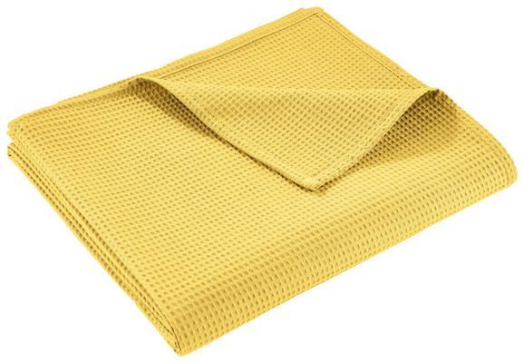 Prekrivač Gerard - žuta, tekstil (150/200cm) - Mömax modern living