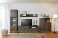 Komoda Visoka Steel - boje hrasta/smeđa, Lifestyle, drvni materijal/metal (88/119/40cm) - Modern Living