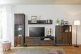 Polica Zidna Steel - boje hrasta, Lifestyle, drvni materijal (150/25/20cm) - Modern Living