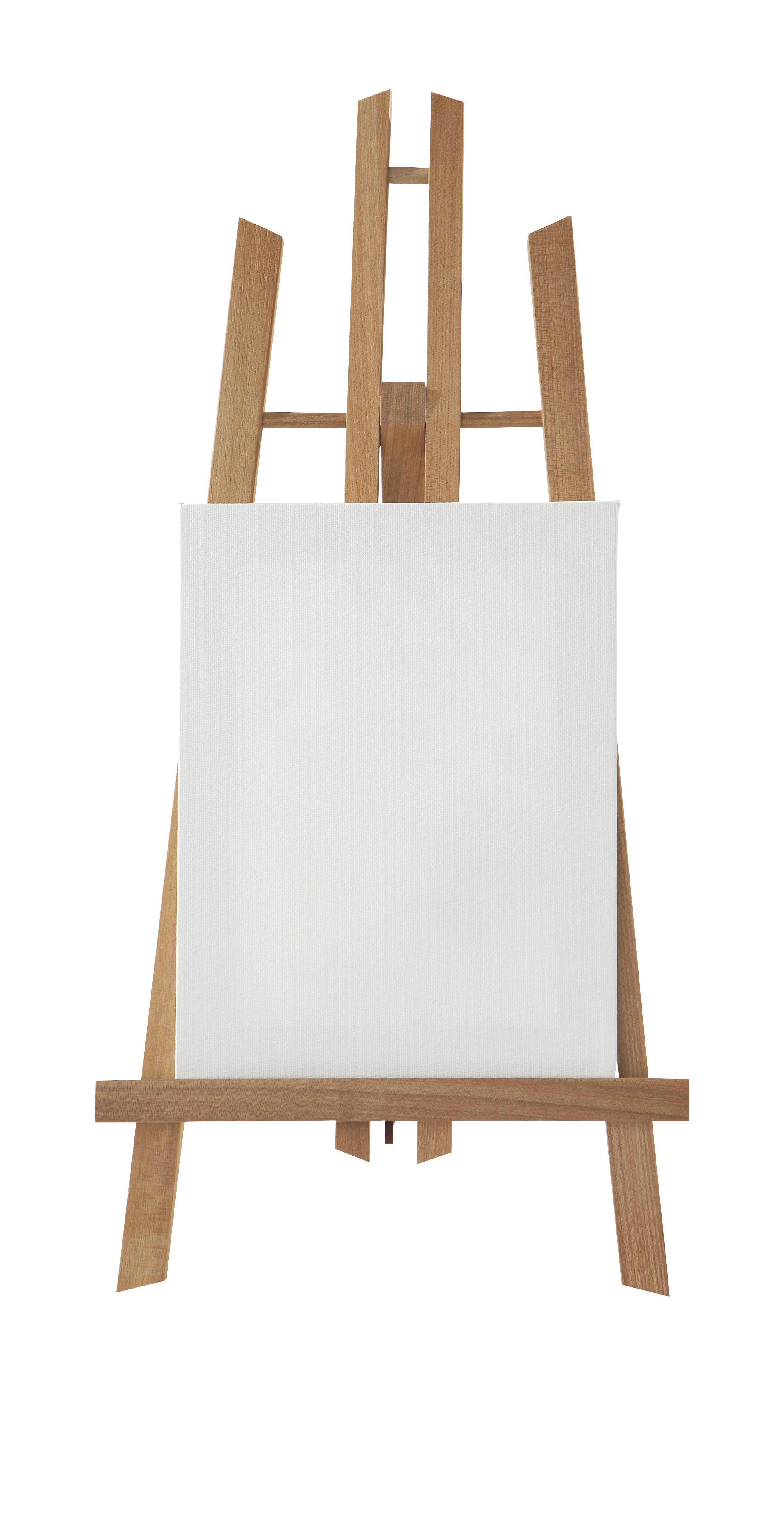 Festőállvány Fa - barna, fa (50cm)