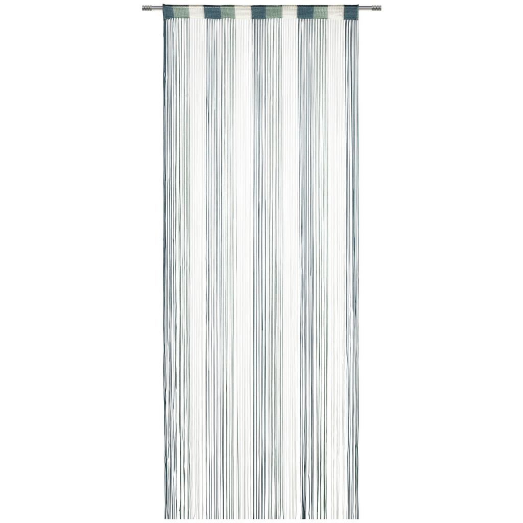 Fadenstore String Weiß/grün