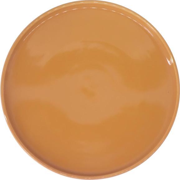 Dessertteller Merit in Gelb Ø ca. 20,8cm - Gelb, MODERN, Keramik (20,8cm) - Premium Living