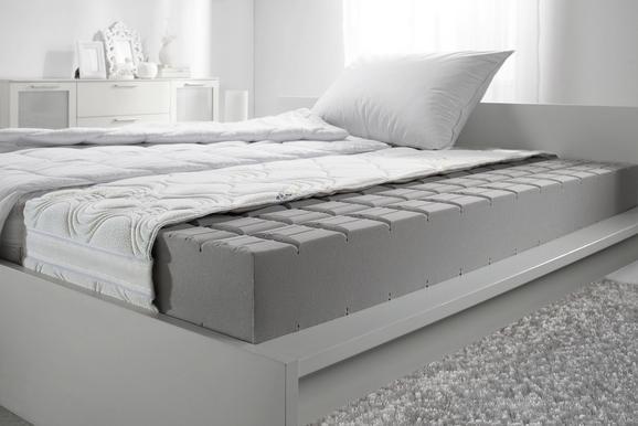 Komfortschaummatratze ca. 100x200cm - Weiß, Textil (100/200cm)