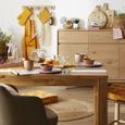 Boxkissen Honeycomb in Gelb ca. 40x40cm - Gelb/Weiß, LIFESTYLE, Textil (40/40/8cm) - Mömax modern living