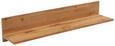 Stenska Polica Kashmir New - hrast, Moderno, leseni material (120/20/20cm) - Zandiara