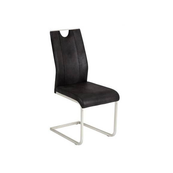 Nihajni Stol Koper - siva/antracit, Moderno (43/102/58cm) - Mömax modern living