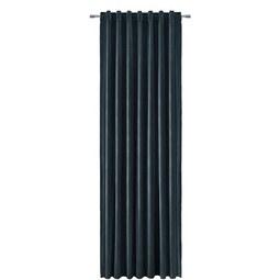 Vorhang Smilla Aus Samt Ca. 135x245 Cm   Petrol, Textil (135/245cm