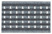 Predpražnik Colorado - siva, Moderno, tekstil (60/40/1cm) - Modern Living