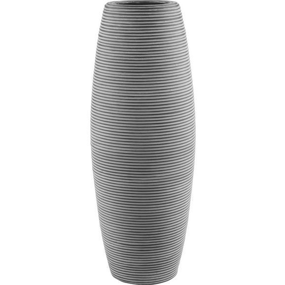 Vaza Marlene - črna, Trendi, umetna masa (22/59cm) - Mömax modern living