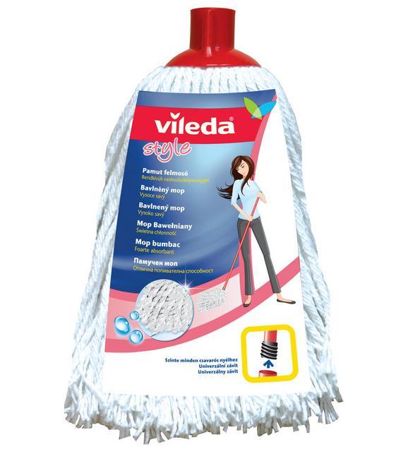 Felmosófej F25314 Vileda - Fehér, konvencionális, Textil