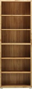 Regal in Weiß/Eichefarben - Eichefarben, MODERN, Holzwerkstoff (80/218/36cm) - Mömax modern living