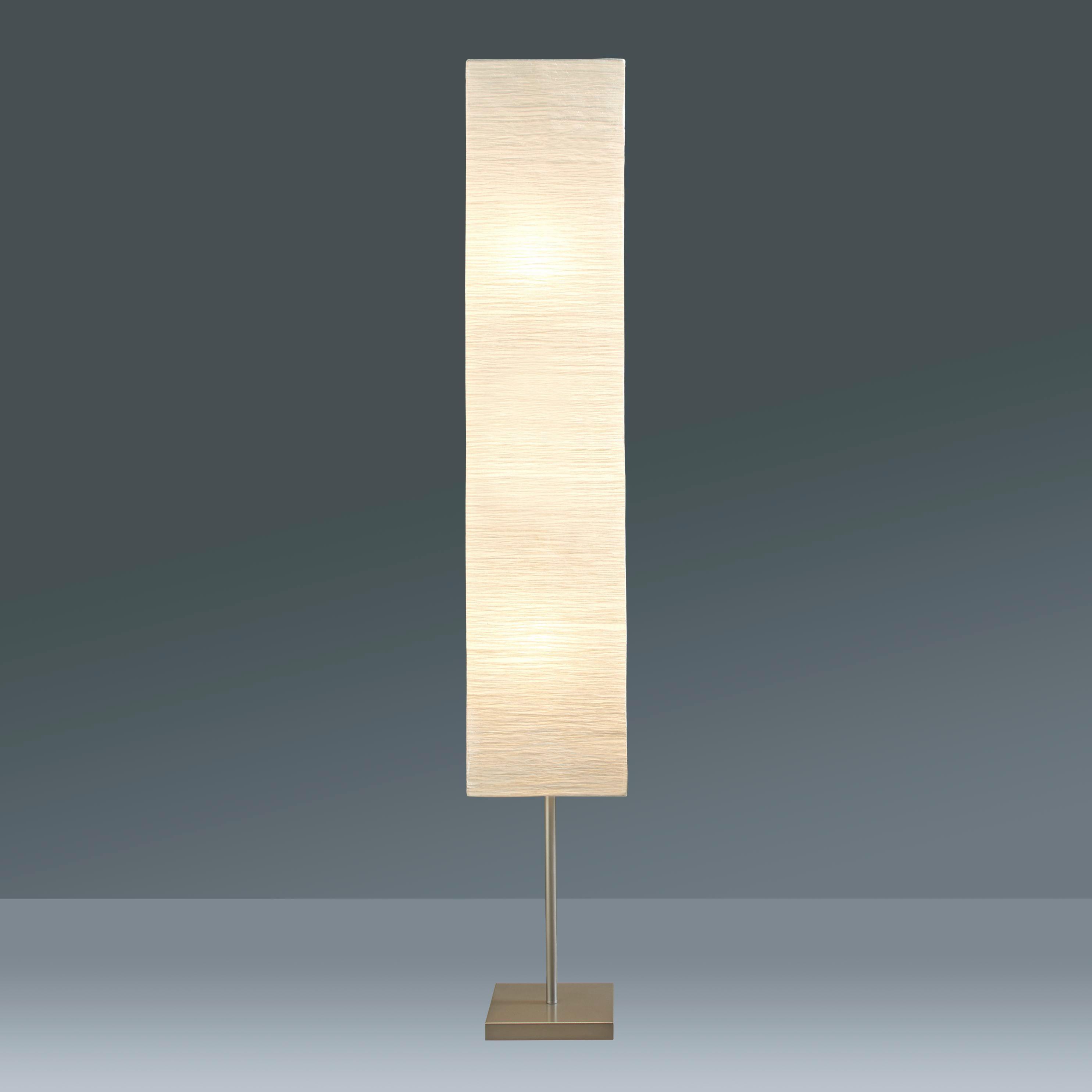 Állólámpa Antonio - ezüst színű/fehér, konvencionális, fém/papír (25/159/25cm) - MÖMAX modern living