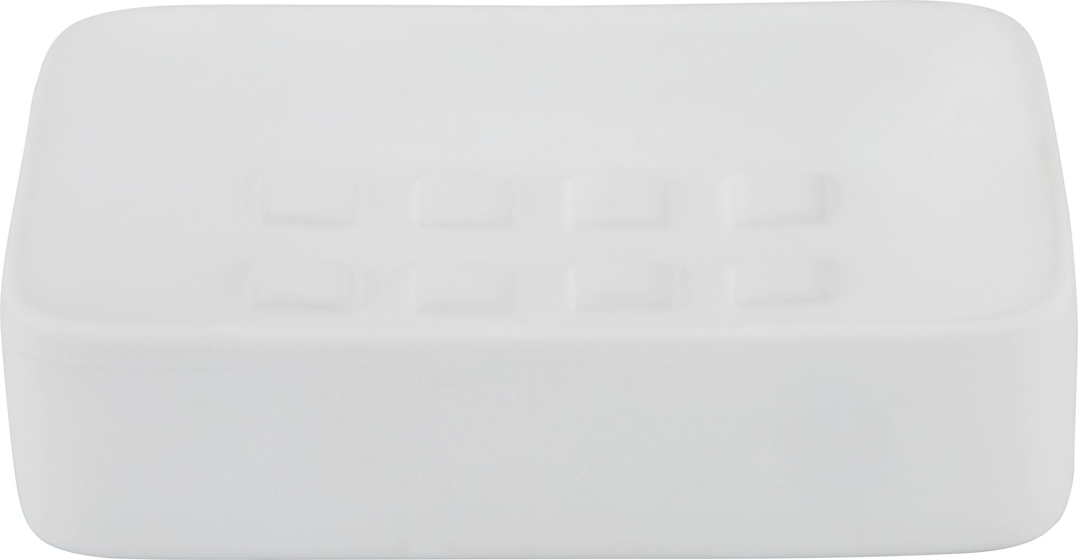 Seifenschale Melanie in Weiß aus Keramik - Weiß, Keramik (8,3/12,5cm) - MÖMAX modern living