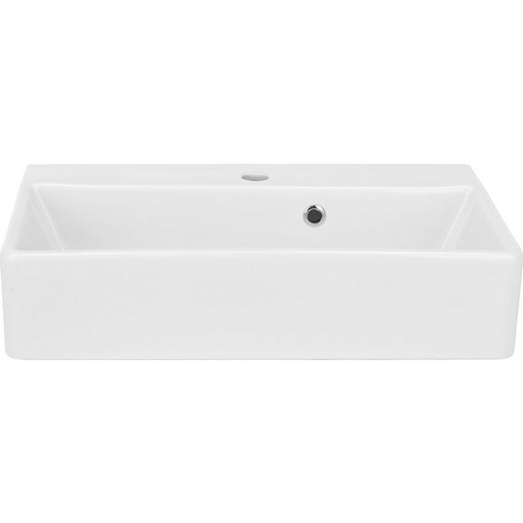 Umivalnik Ix Aufsatz/hängend - bela, keramika (60/13/35cm)