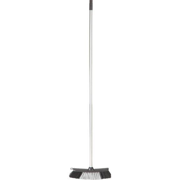 Metla Edgar - črna, umetna masa (126/6/4cm)