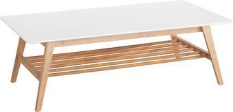 Couchtisch in Braun/Weiß - Braun/Weiß, MODERN, Holz/Holzwerkstoff (130/43/70cm) - MÖMAX modern living