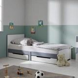 Kinder-/Juniorbett Brian - Weiß, MODERN, Holz/Holzwerkstoff (96/80/203cm) - Mömax modern living