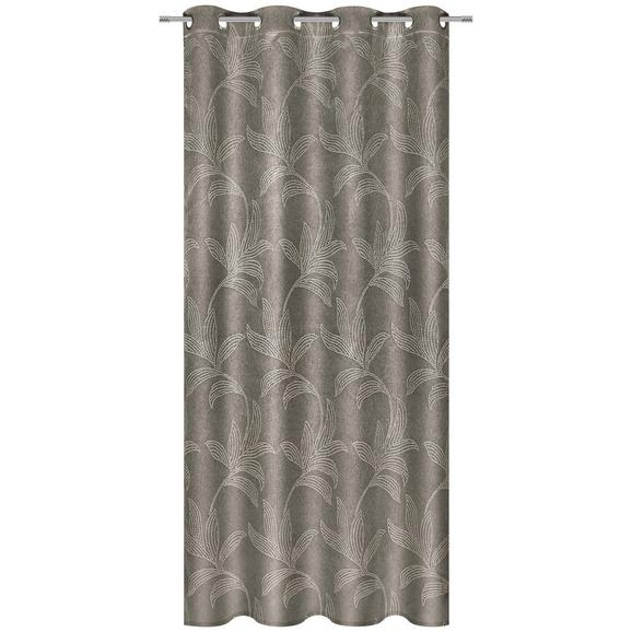 Ösenschal Linda Braun ca. 140x245cm - Braun, KONVENTIONELL, Textil (140/245cm) - Mömax modern living