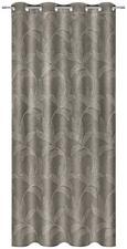 Zavesa Z Obročki Linda - rjava, Konvencionalno, tekstil (140/245/cm) - Mömax modern living
