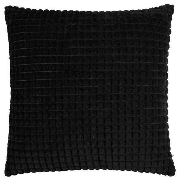 Kissenhülle Mary Schwarz 45x45cm - Schwarz, MODERN, Textil (45/45cm) - Mömax modern living