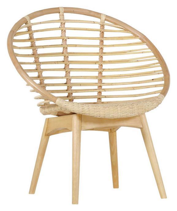 Sessel in Naturfarben - Naturfarben, LIFESTYLE, Holz (77/87/45/63cm) - Mömax modern living
