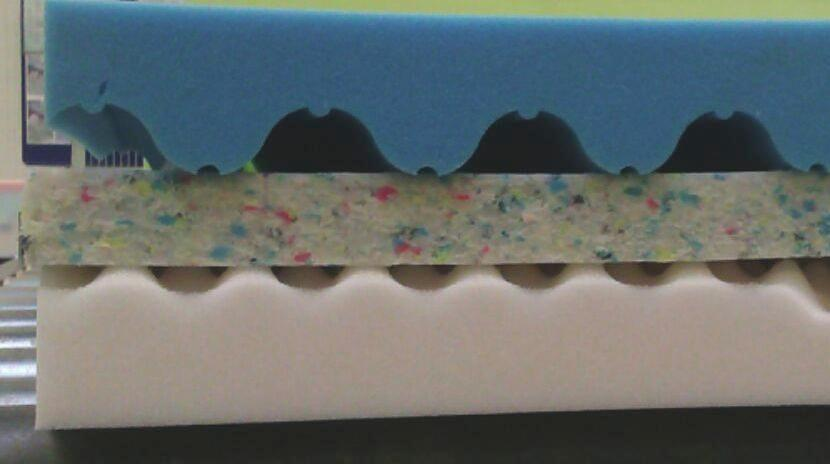 Forgatható Matrac Viva Color - fehér, konvencionális, textil (200/90/21cm)