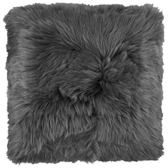 Fellkissen Hunter Anthrazit 45x45cm - Anthrazit, Textil (45/45cm) - Mömax modern living