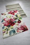 Webteppich Flower ca. 160x230cm - Multicolor, ROMANTIK / LANDHAUS, Textil (160/230cm) - Mömax modern living