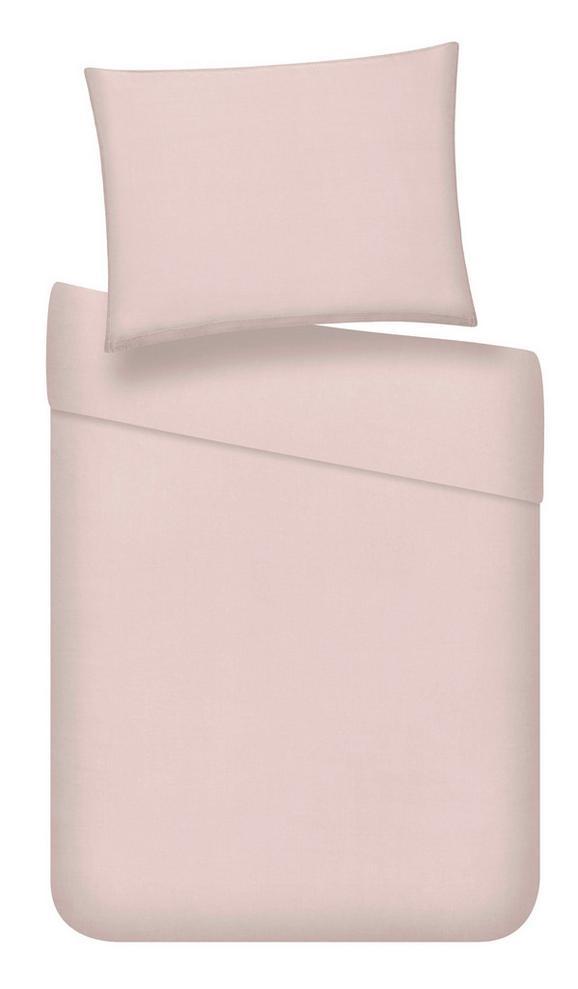 Posteljina Stone Washed Uni - roza, Romantik / Landhaus, tekstil (140/200cm) - Mömax modern living
