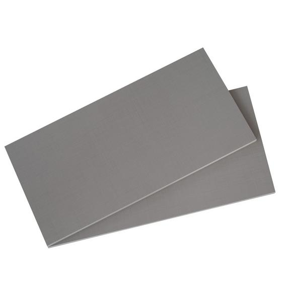 Set Polic Dodatek - svetlo siva, leseni material/les (87,3/1,8/50cm) - Mömax modern living
