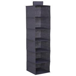 Hängeorganizer in Grau - Grau, Karton/Textil (33/125/35cm) - Modern Living