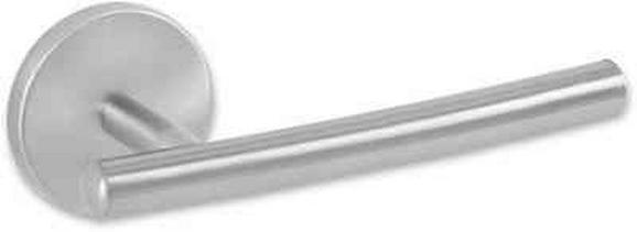 Toilettenpapierhalter Fusion in Edelstahlfarben - Edelstahlfarben, Metall (6/16,5/7cm) - FACKELMANN