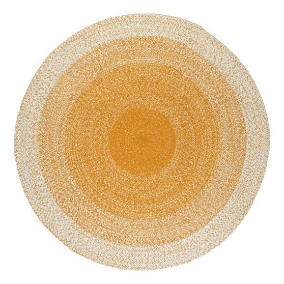 Flachwebeteppich Marie Gelb - Gelb, Basics, Textil (160cm) - Mömax modern living